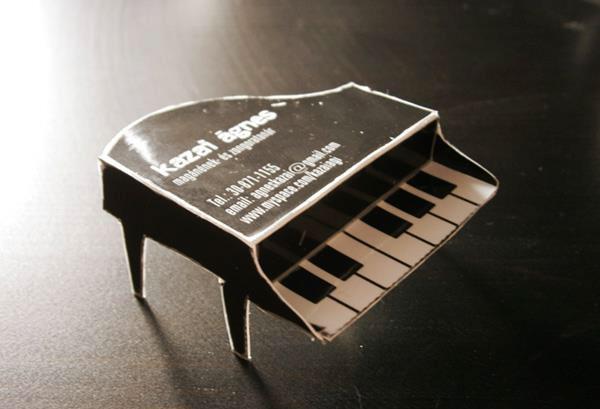 精美的音乐行业名片设计欣赏