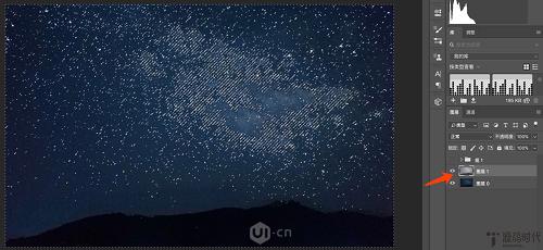 制作网状唯美星空艺术图片的PS技巧