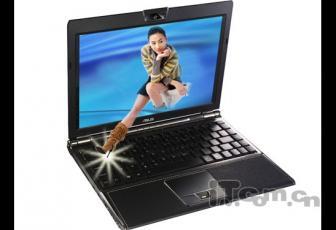 PS图片合成:坐在电脑屏幕中的美女图片