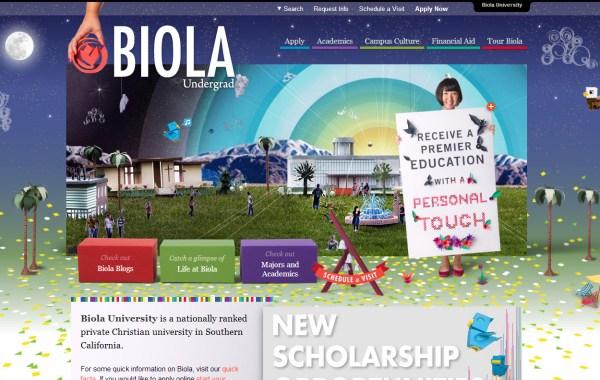 25个国外优秀的教育类网站设计欣赏