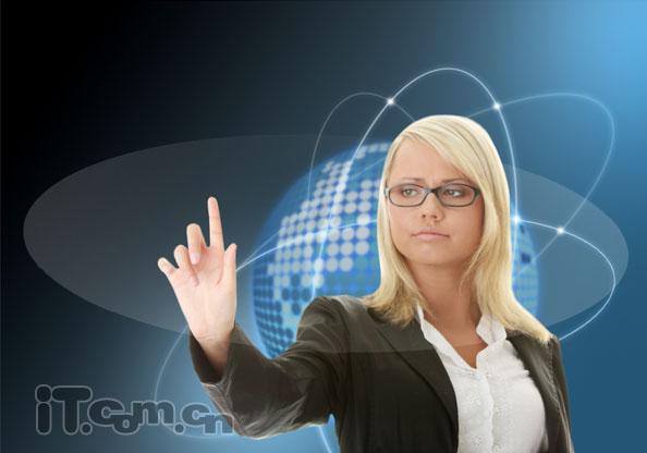 PSu乐现金网注册未来高科技通讯产品宣传海报
