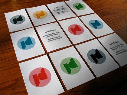 25款国外创意名片设计欣赏