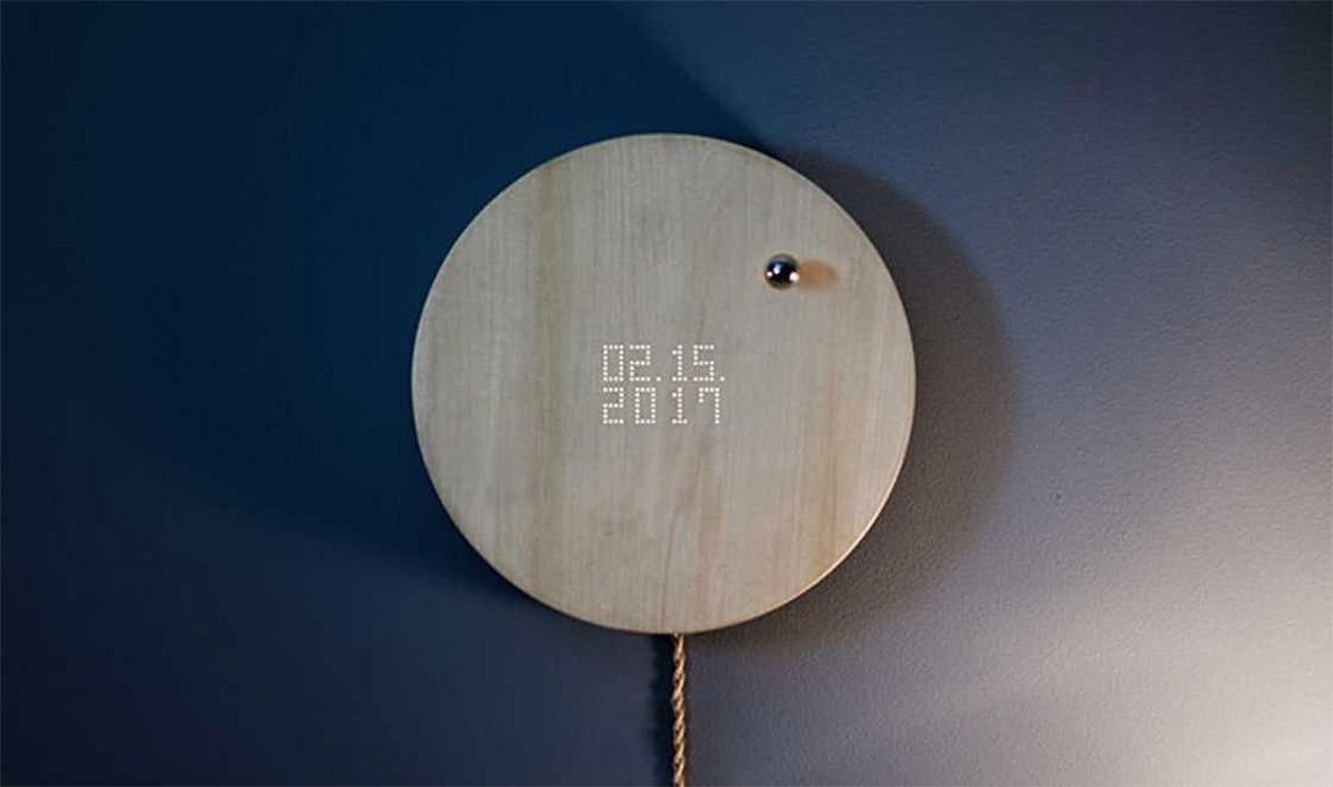 科技感十足的Flyte悬浮时钟