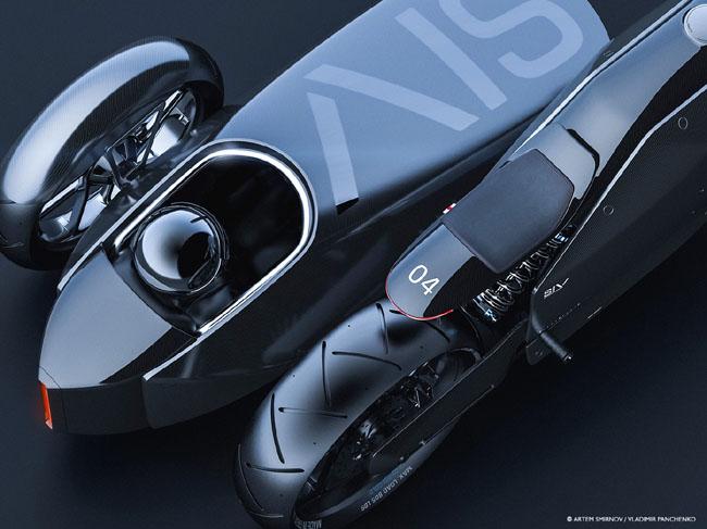 人见人爱的超酷的概念摩托车设计案例