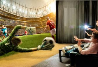 合成VR主题特效足球海报图片的PS教程