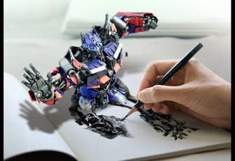 合成逼真立体草图素描画的PS教程