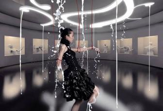 如何PSu乐现金网注册创意的牛奶淋浴场景照片