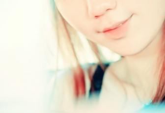 PS调制漂亮青红非主流美女头像照片