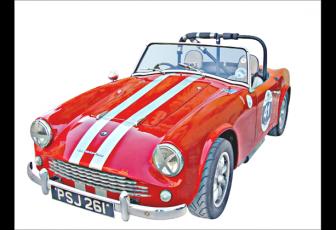鼠绘油画风格复古汽车图片的PS教程
