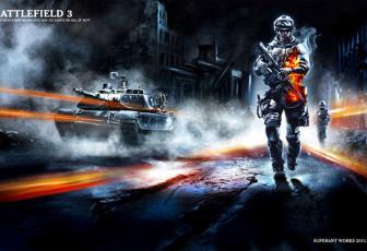 用PS合成超酷战争游戏宣传海报图片